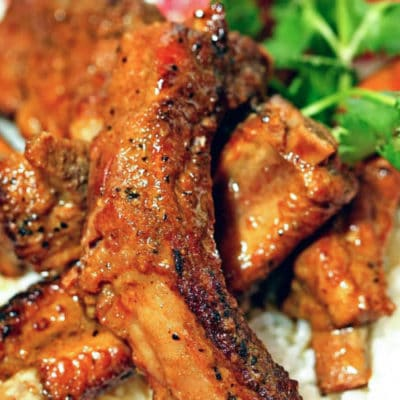 These curry pork ribs are dry rubbed with brown sugar, curry, cinnamon and white and black pepper. And then add ribs and coconut milk to the pressure cooker. keviniscooking.com