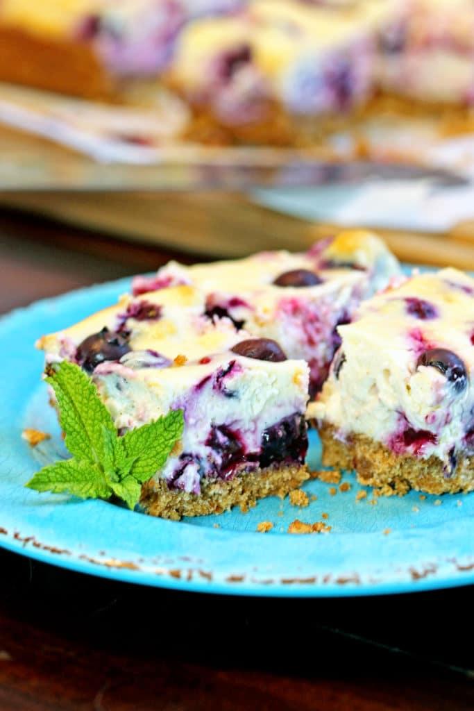 Lemon Berry Cheesecake Bars10