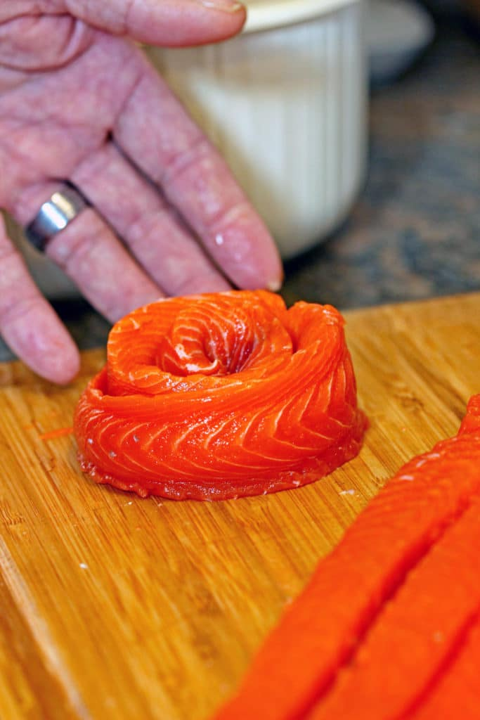 Lemon Dill Copper River Salmon Pinwheels2