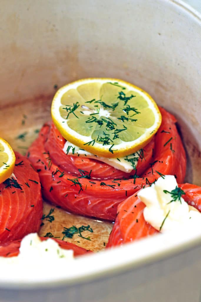 Lemon Dill Copper River Salmon Pinwheels4
