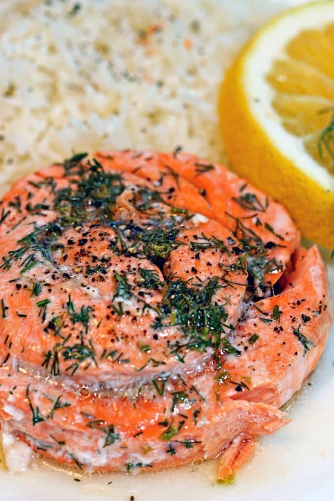 Lemon Dill Copper River Salmon Pinwheels6
