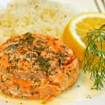 Lemon Dill Copper River Salmon Pinwheels