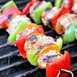 Spicy Honey Yogurt Lamb Kabobs