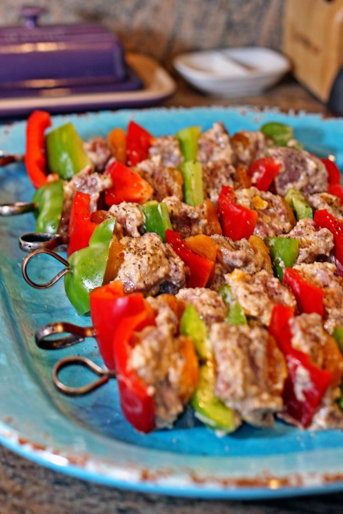 Spicy Honey Yogurt Lamb Kabobs9