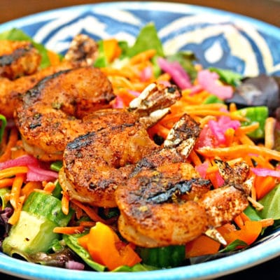 Ancho Chipotle Chili Lime Grilled Shrimp