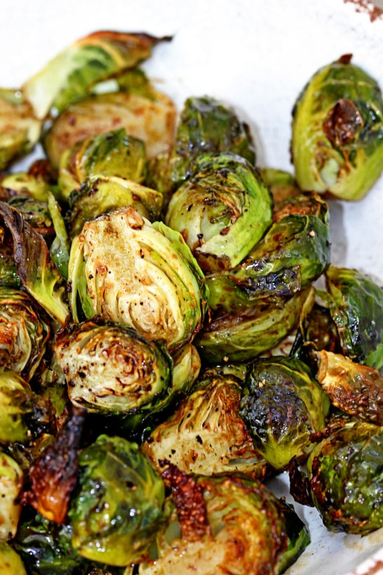 Roasted Brussels Sprouts with Balsamic Vinegar & Honey ...