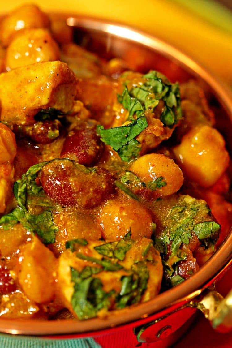 Chicken Chickpea Masala5