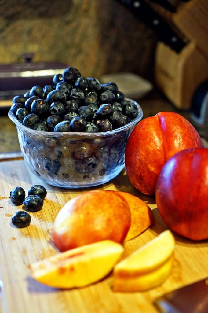 Easy Nectarine Blueberry Roll Ups2