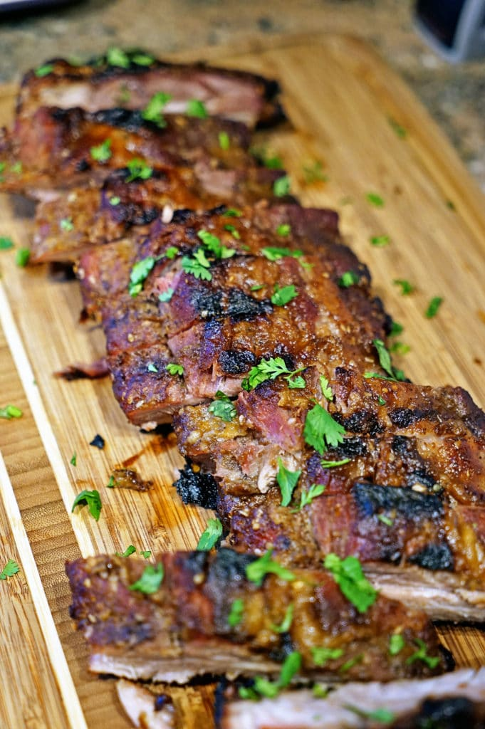 Pineapple Five Spiced Pork Ribs13