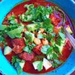 Posole Rojo with Pork - www.keviniscooking.com