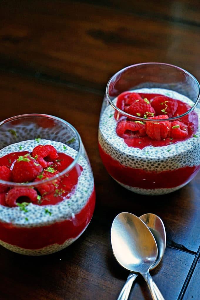 Raspberry Chia Pudding1