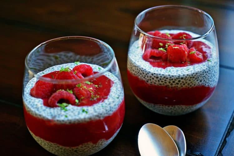 Raspberry Chia Pudding5