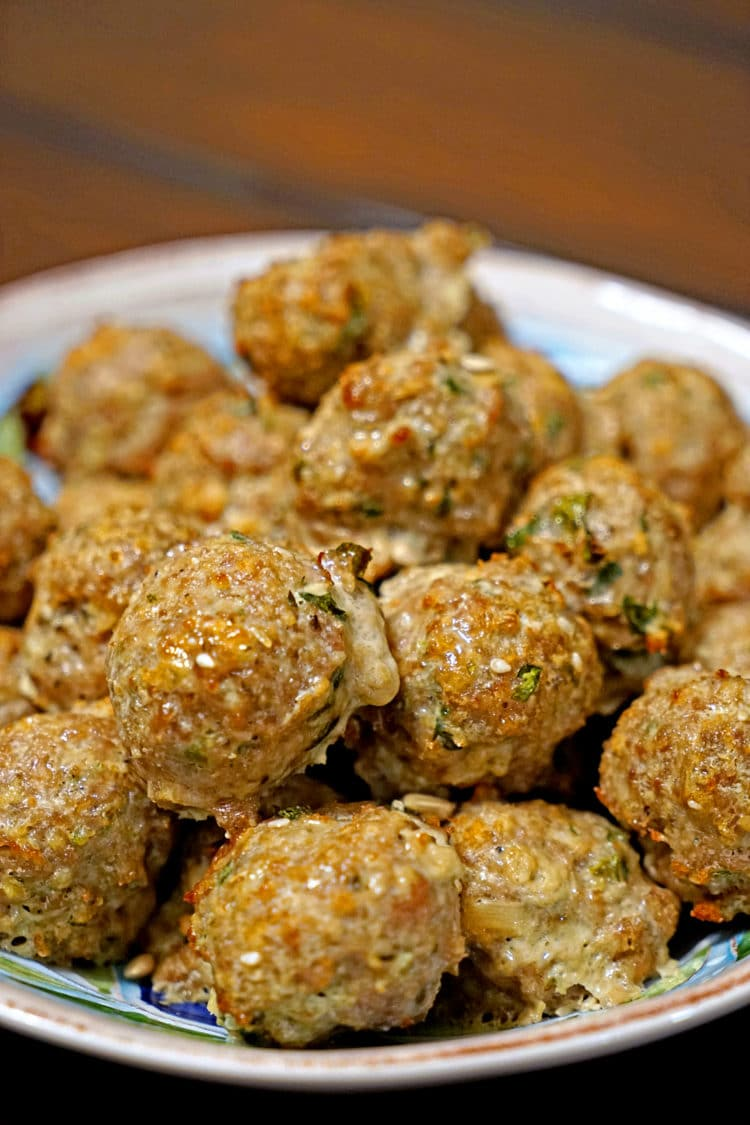 These Roasted Garlic Turkey Meatballs are the result of another recipe ...
