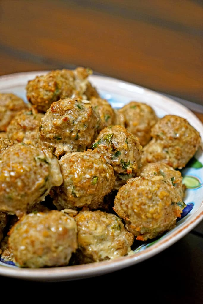 Roasted Garlic Turkey Meatballs11