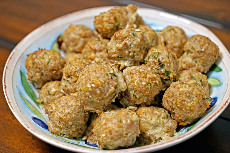 Roasted Garlic Turkey Meatballs2