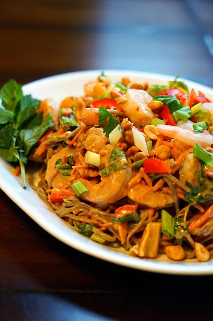 Thai Peanut Shrimp Pasta Salad7
