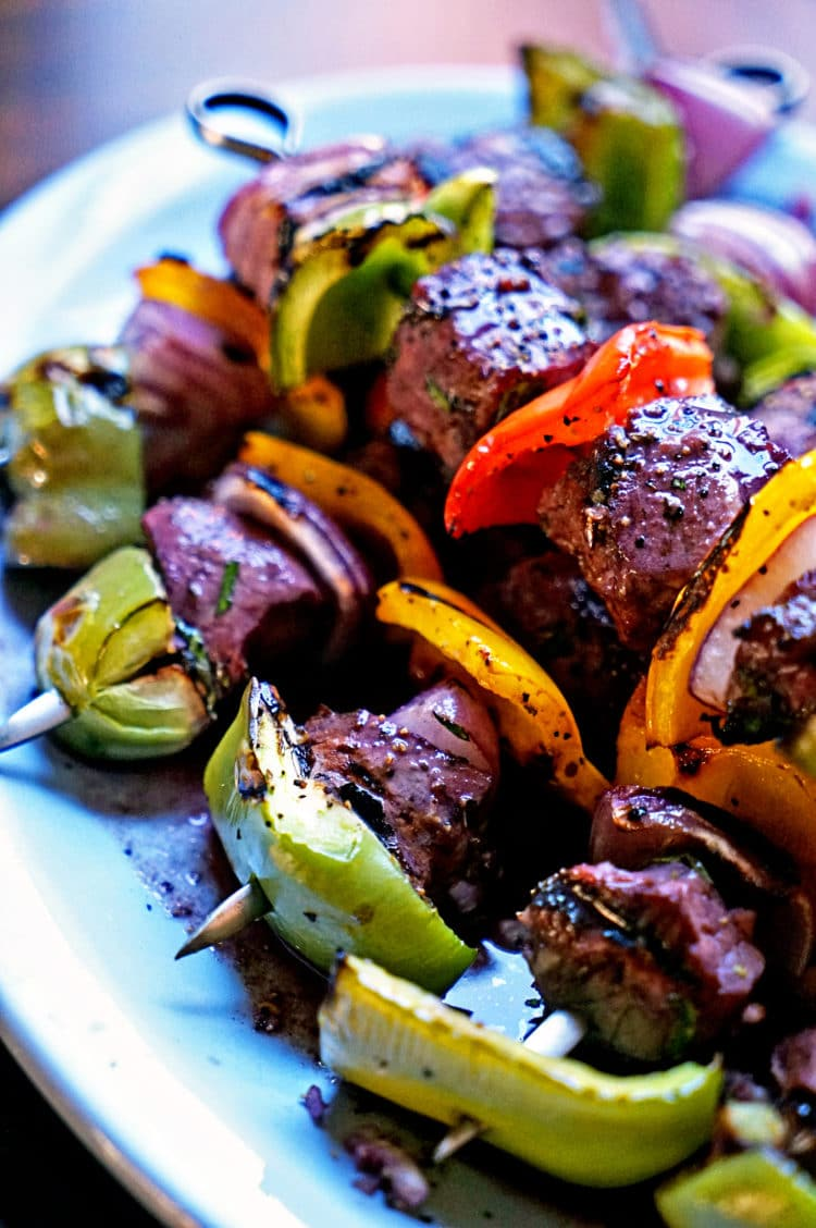 Filet mignon shish kabobs kevin is cooking - Best marinade for filet mignon on grill ...