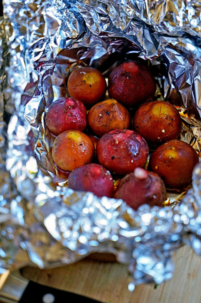 Roasted Beet Salad with Pomegranate Mint Vinaigrette3