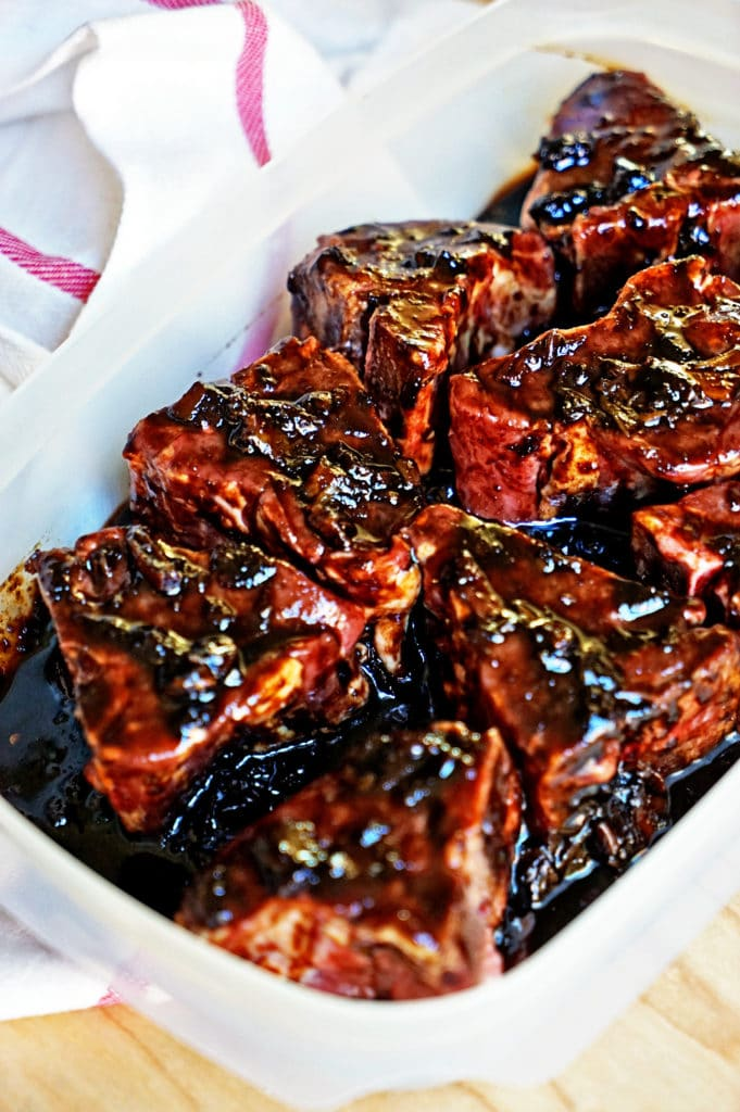 Roasted Garlic Balsamic Glazed Lamb Loin Chops4