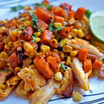 Southwest Sweet Potato Chicken Hash