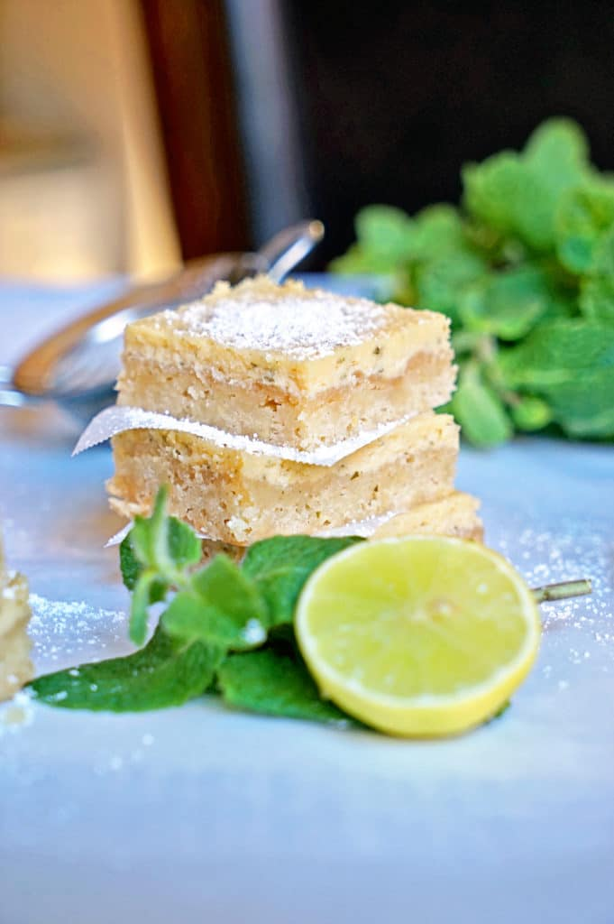 Cuban Mojito Shortbread Bars10