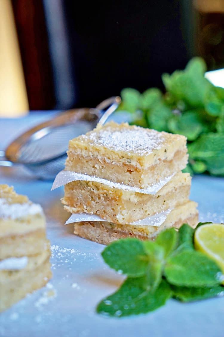 Cuban Mojito Shortbread Bars11