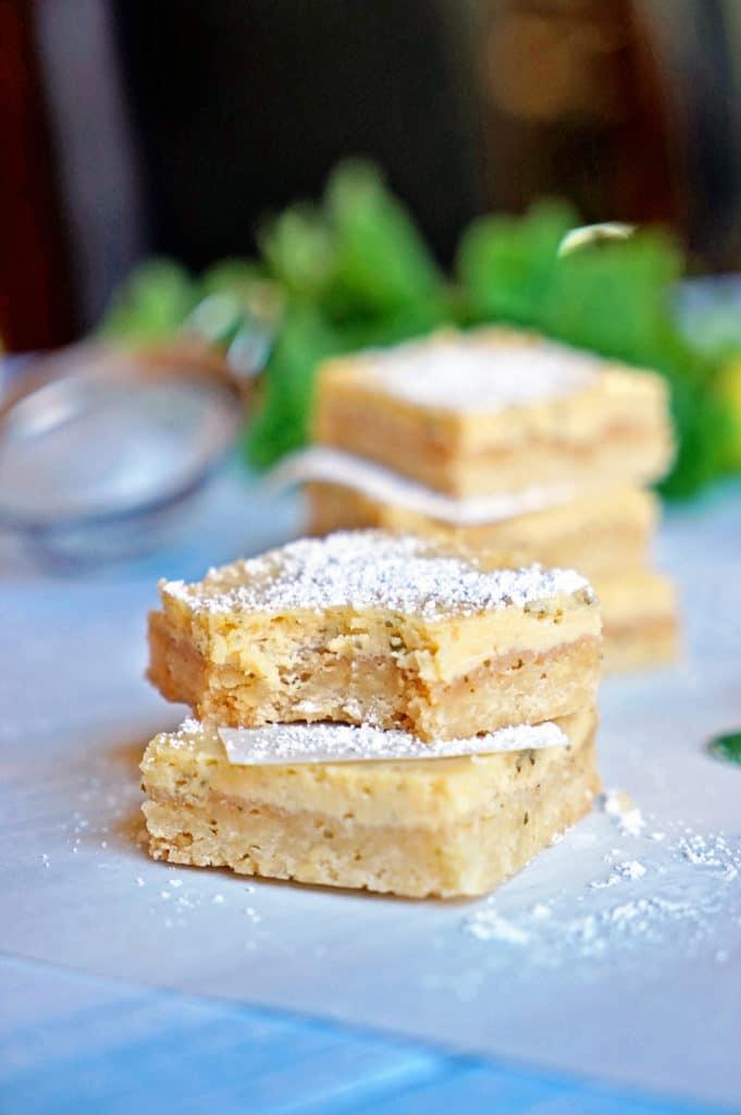 Cuban Mojito Shortbread Bars8