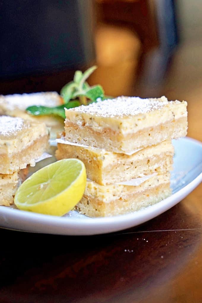 Cuban Mojito Shortbread Bars9