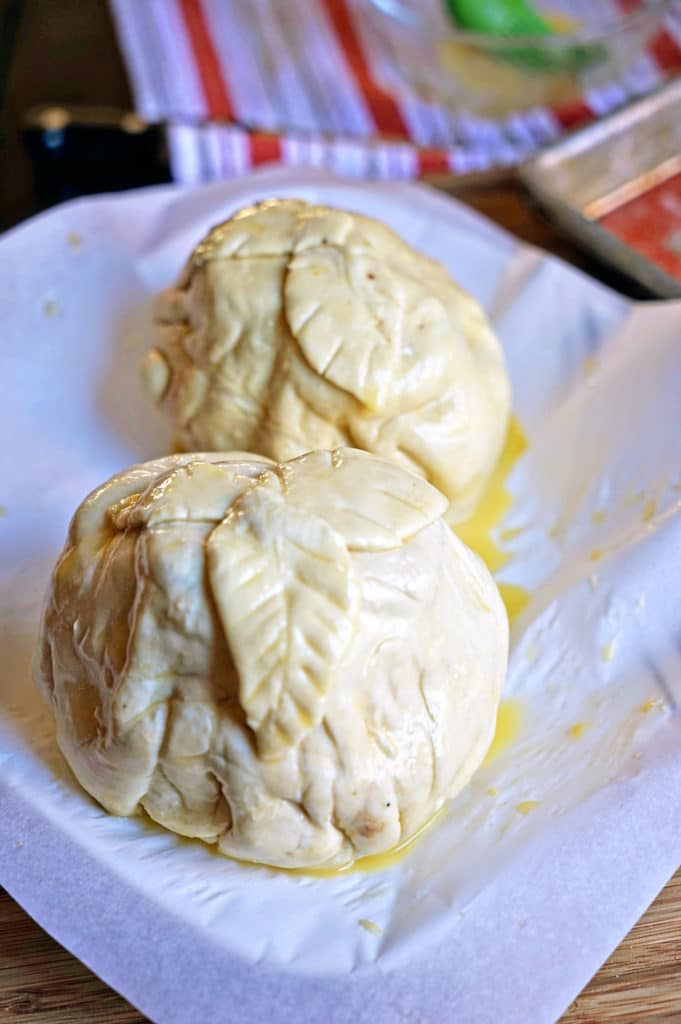 Individual Beef Wellingtons with Caramelized Onions and Bleu Cheese Rosemary Compound Butter10