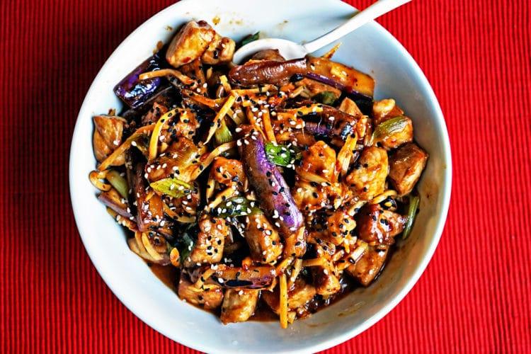 Szechwan Eggplant and Pork Stir-Fry6