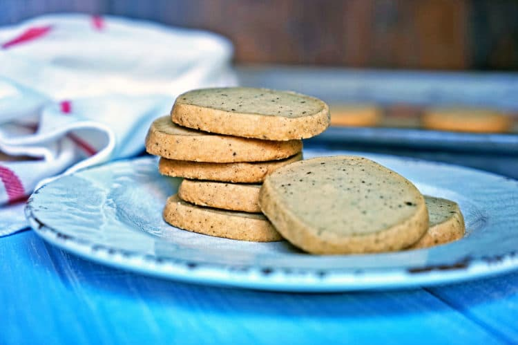 Brown Butter Shortbread Cookie Sandwiches - Kevin Is Cooking