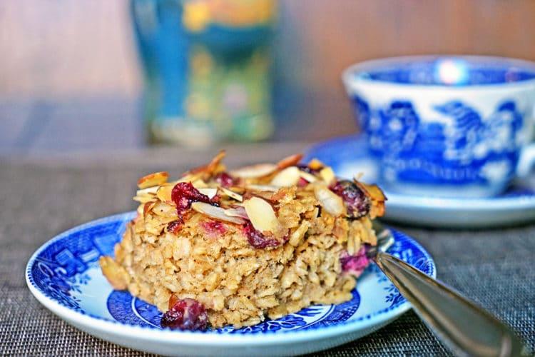 Cranberry, Apple, Nut Oatmeal Bake2