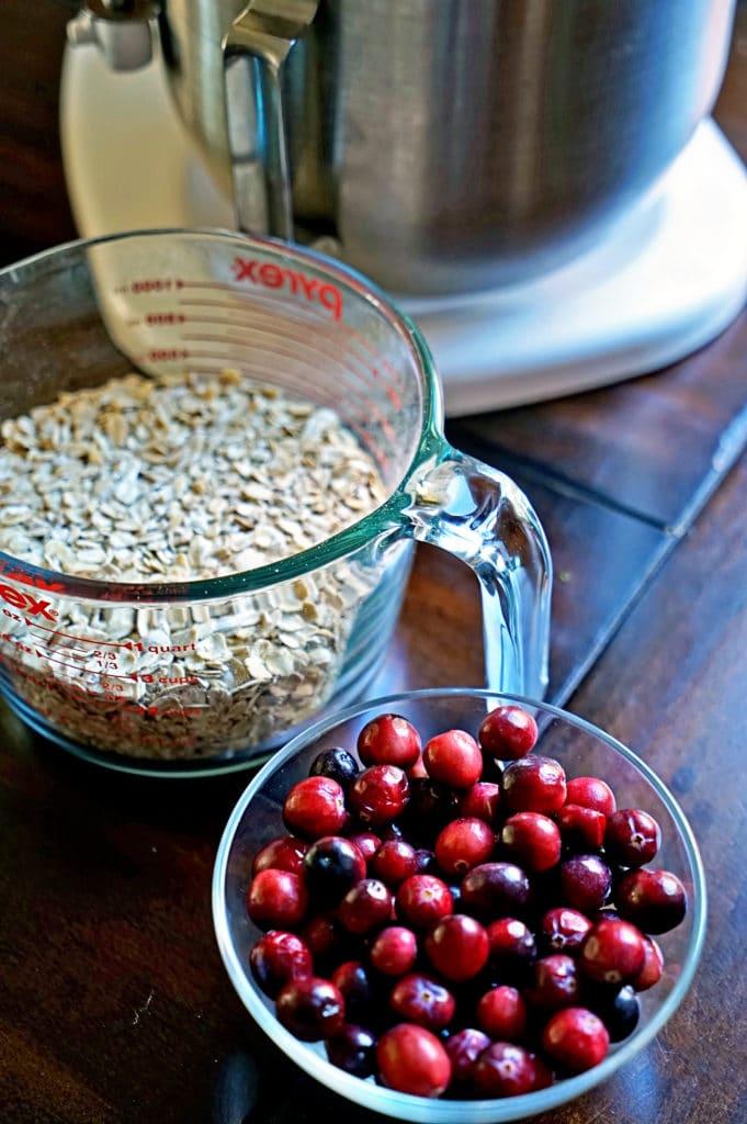 Cranberry, Apple, Nut Oatmeal Bake4