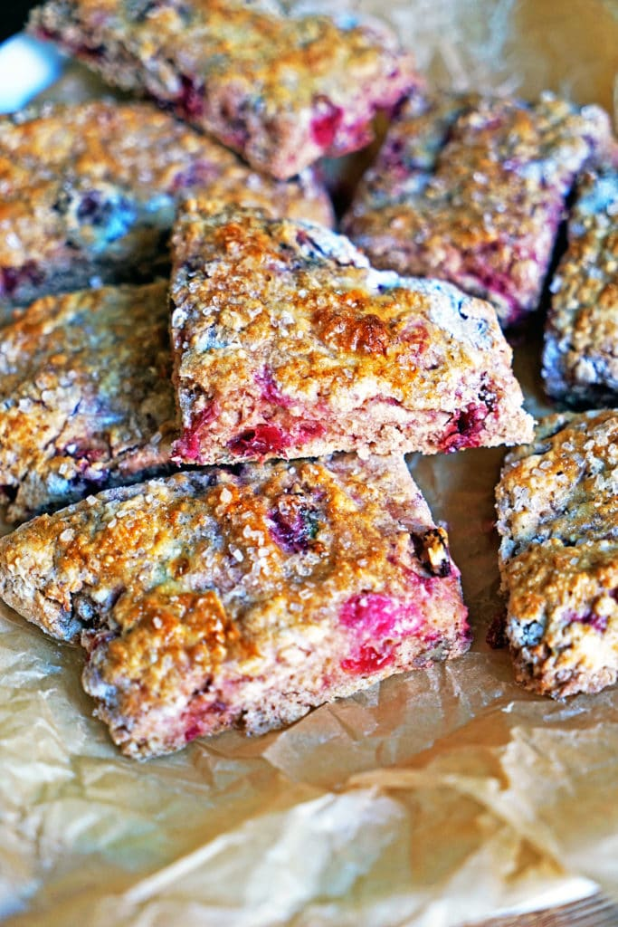 Cranberry Cherry Pecan Buttermilk Scones1
