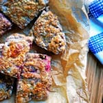 Crancherry Buttermilk and Pecan scones