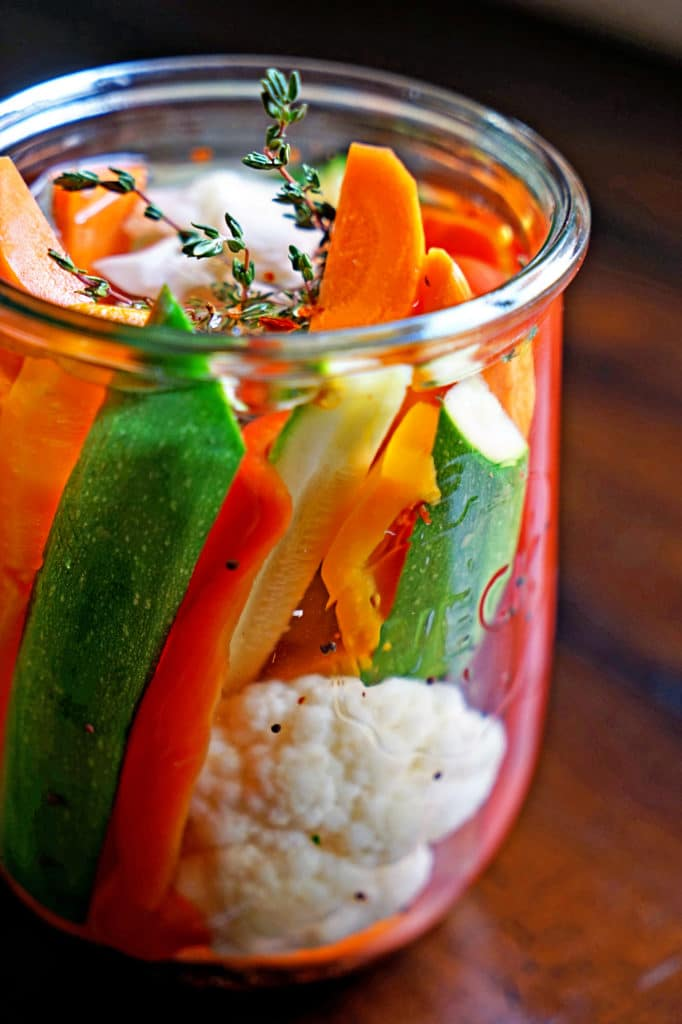 Easy Homemade Pickled Vegetables1