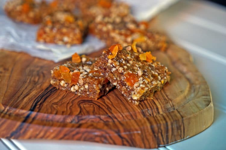 Easy No-Bake Apricot Nut Bars1