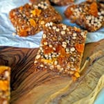 Easy No-Bake Apricot Nut Bars