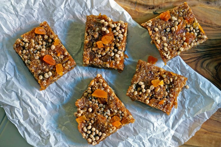 Easy No-Bake Apricot Nut Bars8