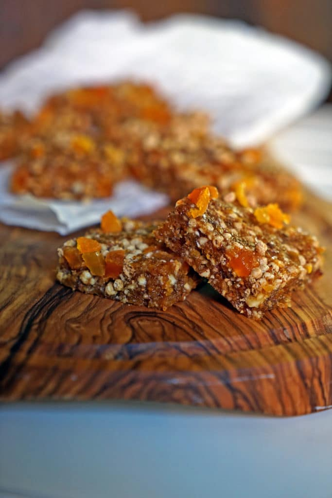 Easy No-Bake Apricot Nut Bars9