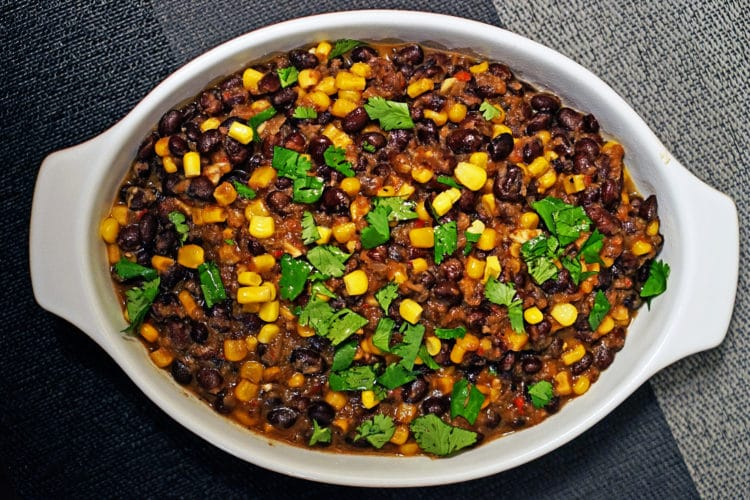 Frijoles con Elote (Corn and Beans)2