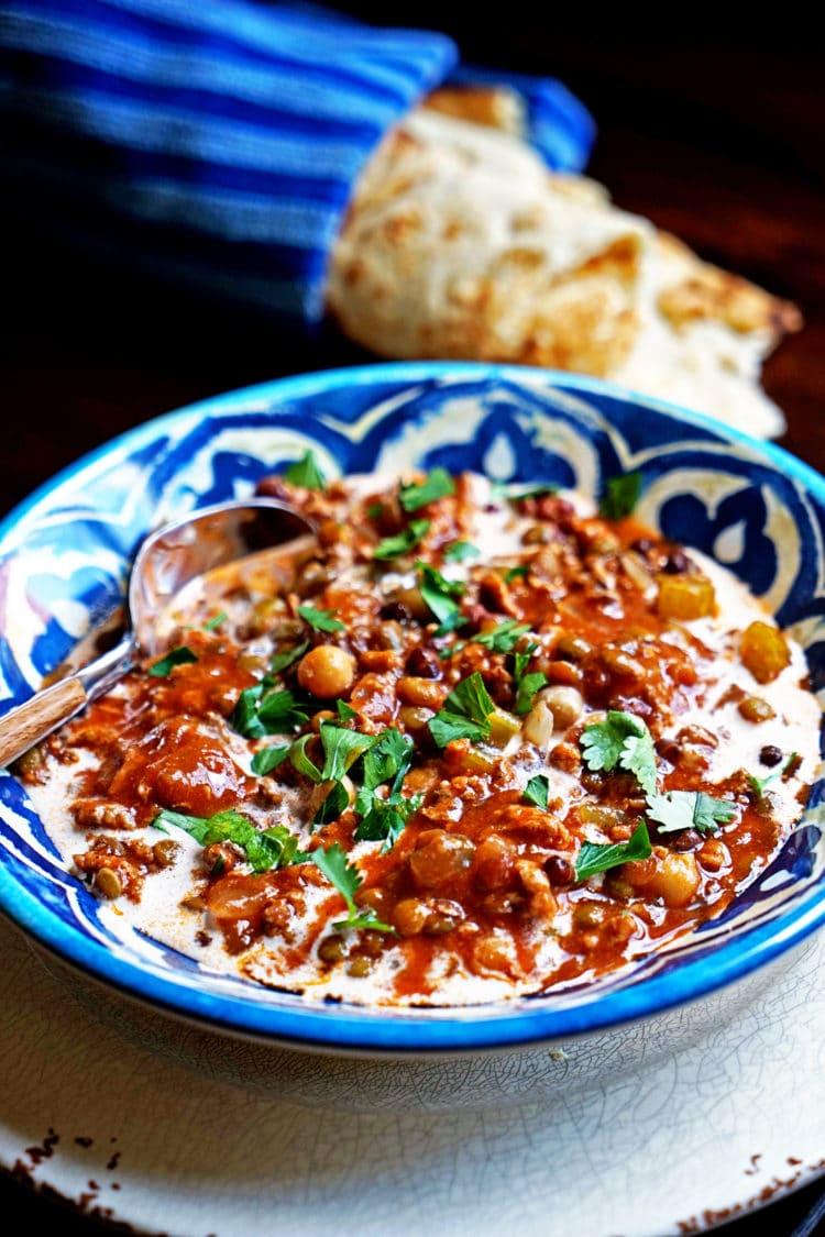 Harira - Lentil, Tomato and Turkey Soup1