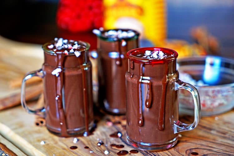 The most amazing, thick and luscious sipping hot chocolate with the flavors of Mexico. Your family with be in heaven! www.keviniscooking.com