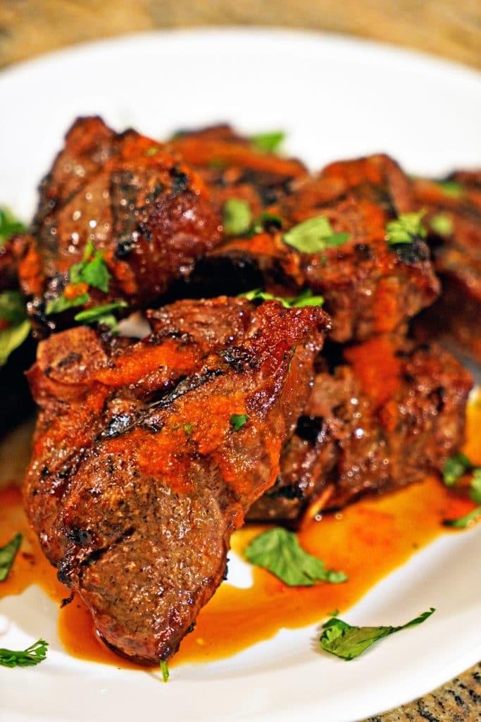 Mongolian Grilled Lamb Loin Chops6