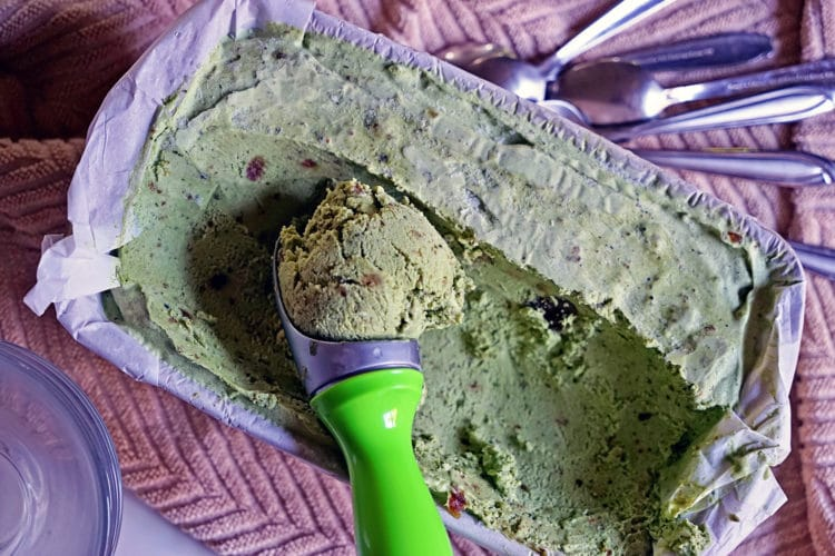 No Churn Matcha Green Tea Ice Cream8