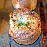 Pancetta Parmesan and Black Pepper Popovers
