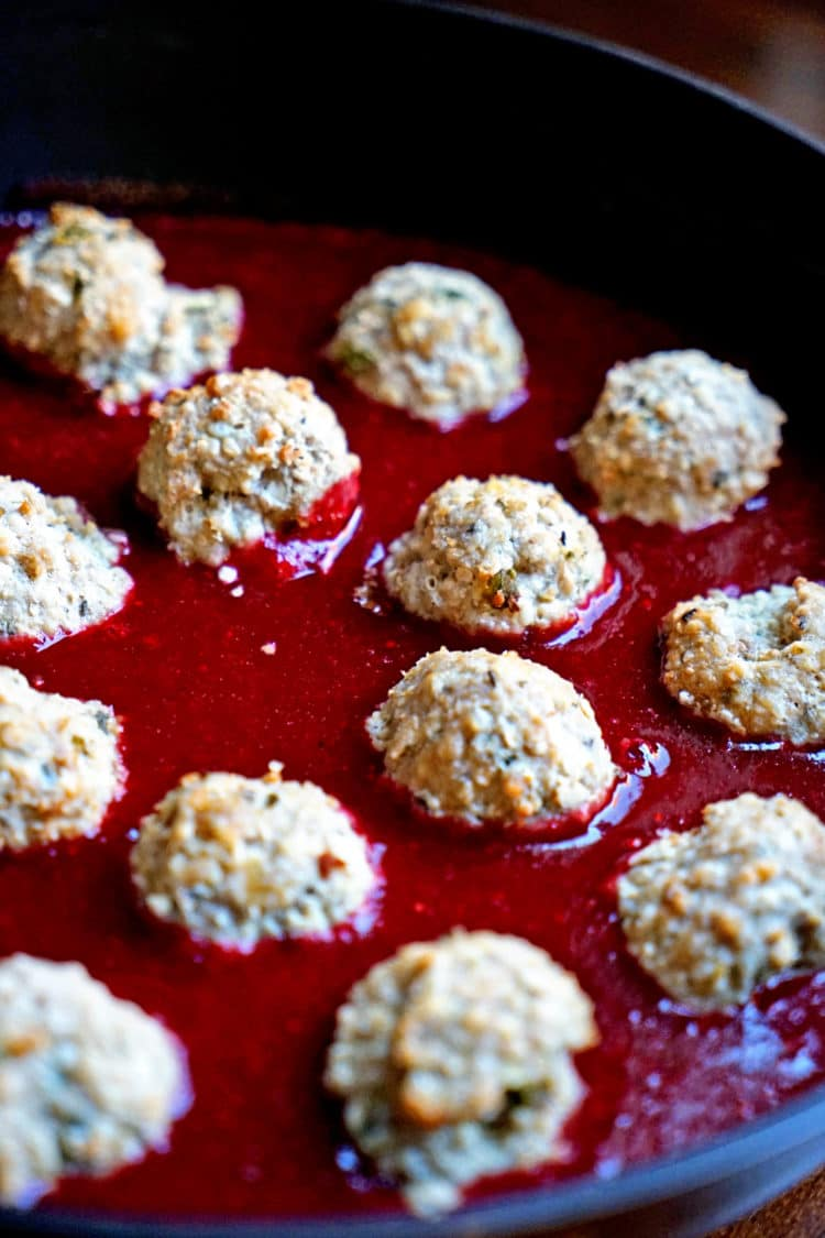 Cranberry Glazed Turkey Meatballs Recipes — Dishmaps