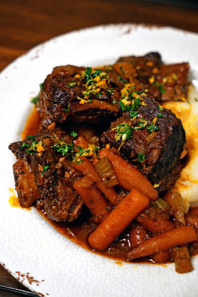 Braised Short Ribs with Citrus Gremolata1