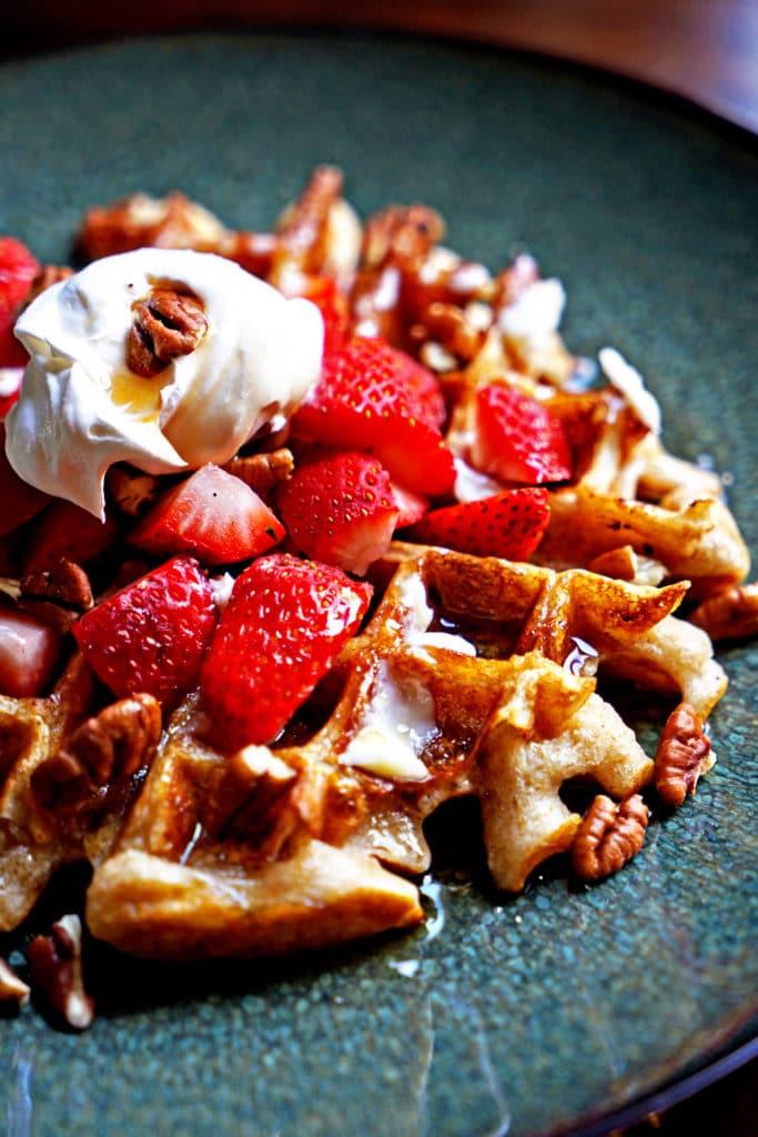Sourdough Wheat Waffles4