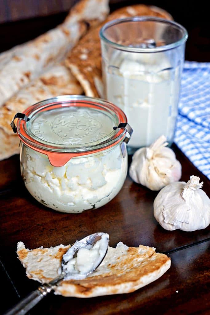 Toum - Lebanese Garlic Sauce9
